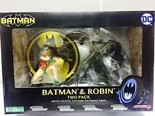 KOTOBUKIYA DC COMICS BATMAN & ROBIN ARTFX + Statua 2-Pack Figura SV174 16cm