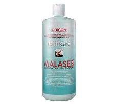 Dermcare Malaseb Medicated Shampoo 500ml Dog Dermatitis Allergies Fleas Mites