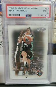 2000 Skybox Dominion Becky Hammon Rookie RC PSA 9 #93 WNBA