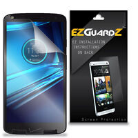 6X EZguardz LCD Screen Protector Skin Cover Shield 6X For Motorola Droid Turbo 2