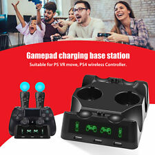 Dual Controller Charger Dock Station USB Charging Stand Fit For PlayStation PS4