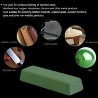 1PC Abrasive Buffing Polishing Soap Compound Paste Wax Metal Bar GrinF5X2 C4R6