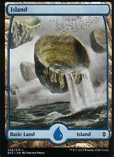 Island - Version 4 (Full Art) | NM/M | Battle for Zendikar | Magic MTG