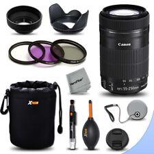Canon 55-250 USM Lens for Canon EOS 70D 7D 60D 6D 5D 1200D 1100D T5 T3 SL1 100D