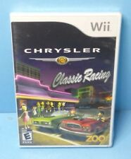 Chrysler Classic Racing (Nintendo Wii, 2008) BRAND NEW FACTORY SEALED