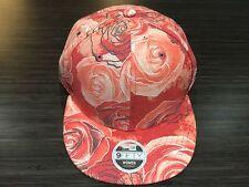 New Era Cap Hat Disney's Beauty & The Beast Ladies All Over Rose Snapback Women
