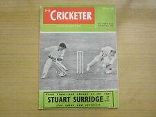 August 6th 1955, THE CRICKETER, Alex Skelding, Headley Keith, Arthur McItyre