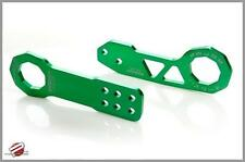 PASSWORD JDM BILLET ALUMINUM REAR TOW HOOK GREEN FOR 2005-2010 SCION TC