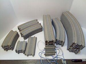 N scale kato double track  unitrack lot 78 pieces