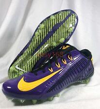 New Nike Vapor Carbon Elite Sz 11.5 Men VPR Purple Cleats 45 Football 657441 518