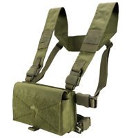 Viper VX Buckle Up Airsoft Tactical Modular Utility Pouch Chest Rig Vest Green