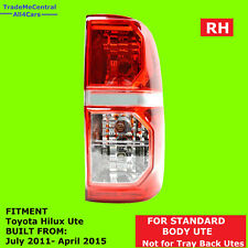Right Hand Driver Side Tail Light Lamp Toyota Hilux 2011 2012 2013 2014 2015 UTE