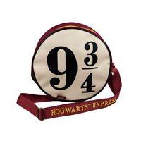 Harry Potter Bolso Bandolera Redondo Pista 9 Y 3/4 30x30x10cm Original GROOVY