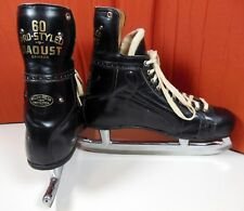 Vintage Daoust 60 Pro Styled Ice Hockey Skates NHL Officially Approved Size 12.