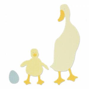 Sizzix Bigz Die - Duck & Duckling 663306