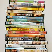 Lot of 17 DVD's Pre-owned Romantic Comedy Couples Movies Chick Flicks Love Drama
