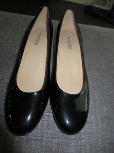 """Rangoni By Amzlfi Women Black Dress Shoes Size 11 M 2"""" Heel"""