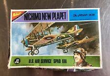 Vintage Nichimo 1:144 Spad XIII Model Kit Eddie Rickenbacker WWI