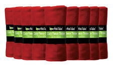 24 Pack Soft Warm Fleece Blanket or Throw Blanket - 50 x 60 Inch Red