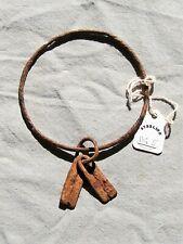 "New listing African Dogon Priest's Iron Hogon Bracelet From Mali 5""Length"