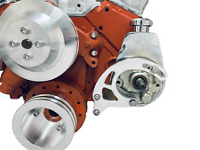 Small Block Chevy Saginaw Power Steering Bracket Sbc Ewp Lwp Ps Long Water Pump