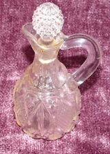 Vintage Glass Decanter 70 plus years old Oil or Vinegar