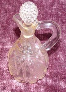 Vintage Glass Decanter 70 plus years old Oil or Vinegar