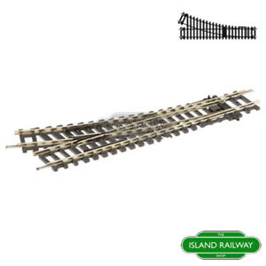 Hornby R8073 Right Hand Points Track Pieces Standard Single OO Gauge 1:76 Scale