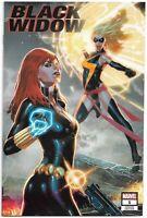Black Widow #8 Jay Anacleto Variant NM Marvel Comics 2019 Captain Marvel