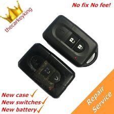 REPAIR SERVICE Nissan Qashqai Almera Primera Micra key fob remote+new shell case