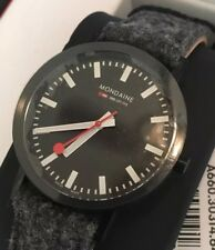 36mm Mondaine Swiss Railways Watch With Gray Felt Strap A660 30314 64sbh