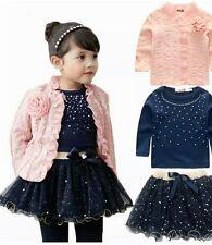Baby Girl Party Wear Dress...3 pcs..Jacket+Top+Skirt...Cute kids dress