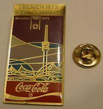 Pins coca cola Olympics MUNICH 1972 XXth OLYMPIAD