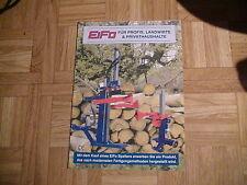 Prospekt EiFo Holzspalter