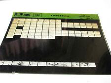 Kawasaki KZ650 - B Series Parts List Micro Fiche