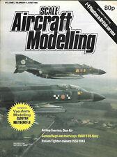 Scale Aircraft Modelling Vol.2 No.9 Phantom British Italian Fighter RVAH-3 Navy