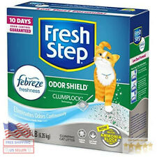 Fresh Step Scoopable Cat Litter, Clumping, 14 lbs
