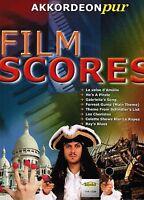 Akkordeon Noten : FILM SCORES Filmmusik (Akkordeon pur) mittelschwer
