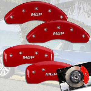 2014-2019 Mini Cooper Front + Rear Red MGP Brake Caliper Covers F55 F56 H/B Conv