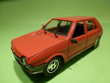 POLISTIL S679 FIAT RITMO 65 CL - RED 1:25 - RARE SELTEN - VERY GOOD