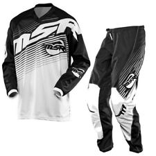 MSR AXIS M14 JERSEY HOSE PANT COMBO 34 L FOX 180 360 BLACK WHITE SHIFT ONEAL