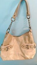 PRICE REDUCED! Nine West Purse/Shoulder Bag - Tan Suede & Embossed Faux Leather