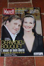 paris match 2661 du 25 mai 2000 bouquet depardieu huppert gassot hudson brialy