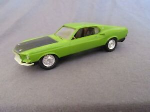 522F Amt USA Model Kit Assembled Ford MUSTANG Shelby Gt 500 Green 1:43
