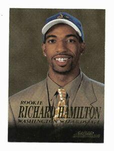 Richard Hamilton Rookie Wizards RC NBA G/F 1999-00 SkyBox Dominion Basketball BB