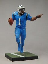 CAM NEWTON custom Mcfarlane figure CAROLINA PANTHERS Blue CR jersey helmet NFL