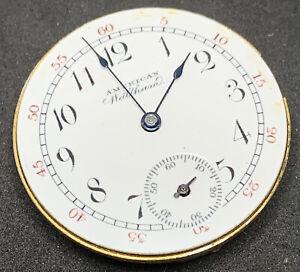 Waltham Two Tone Seaside Pocket Watch Movement 1891 0s 11j Hunter Parts F2036