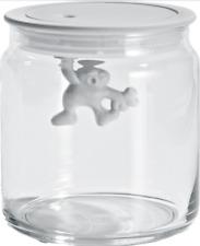 Alessi Gianni Storage Jar Small White AMDR04 W