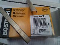 Bostitch 84 Series Staples. 1840600E & 1841400Z 12.3mm crown Staples