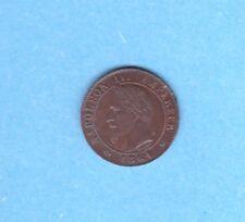 (BR.115) 1 CENTIME NAPOLÉON III TÊTE LAURÉE  1861 K (SPL)